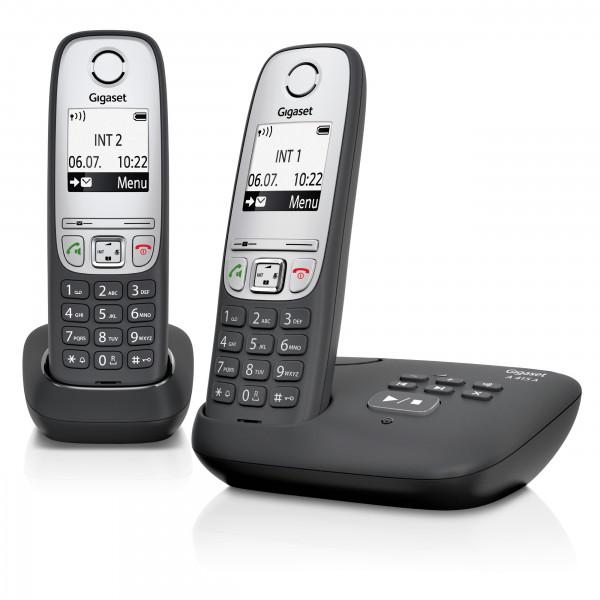 Siemens Gigaset A415A Duo mit Anrufbeantworter