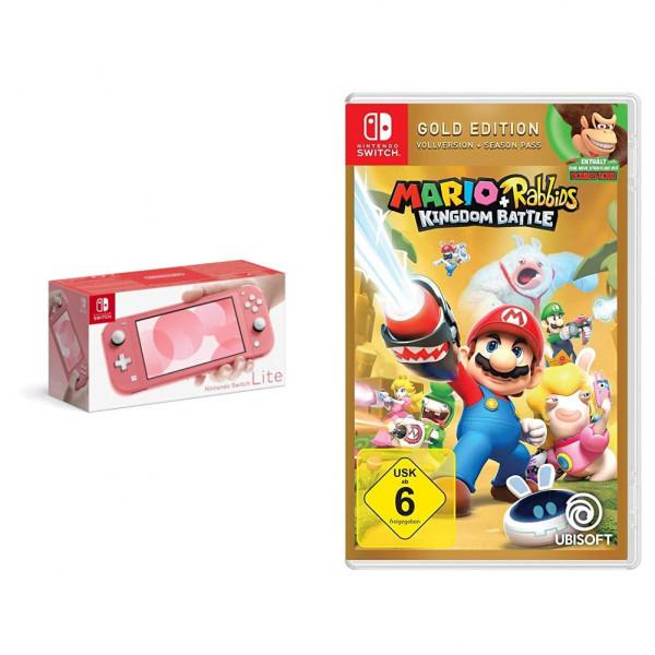 Nintendo Switch lite mit Super Mario Game