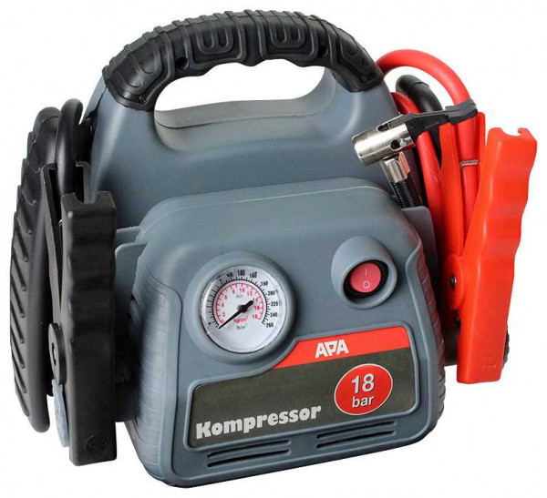 Power Pack mit Kompressor und Starthilfe 500 A